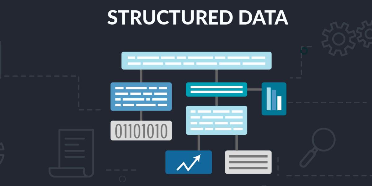البيانات المنظمة (Structured Data)