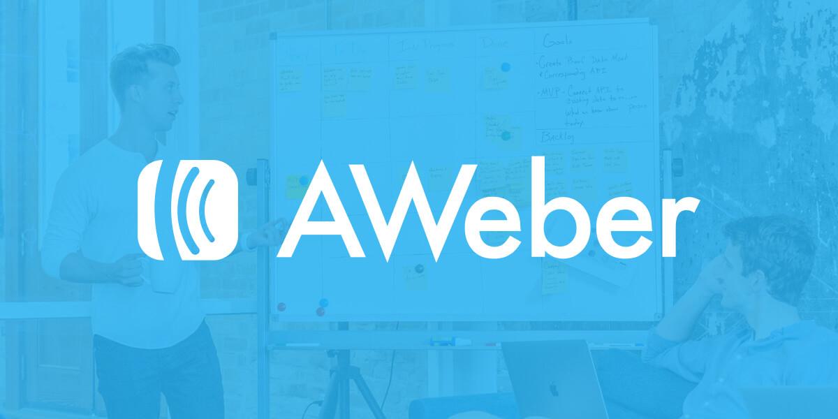 منصة aweber تدعم اضافة (Elementor) في وورد بيرس